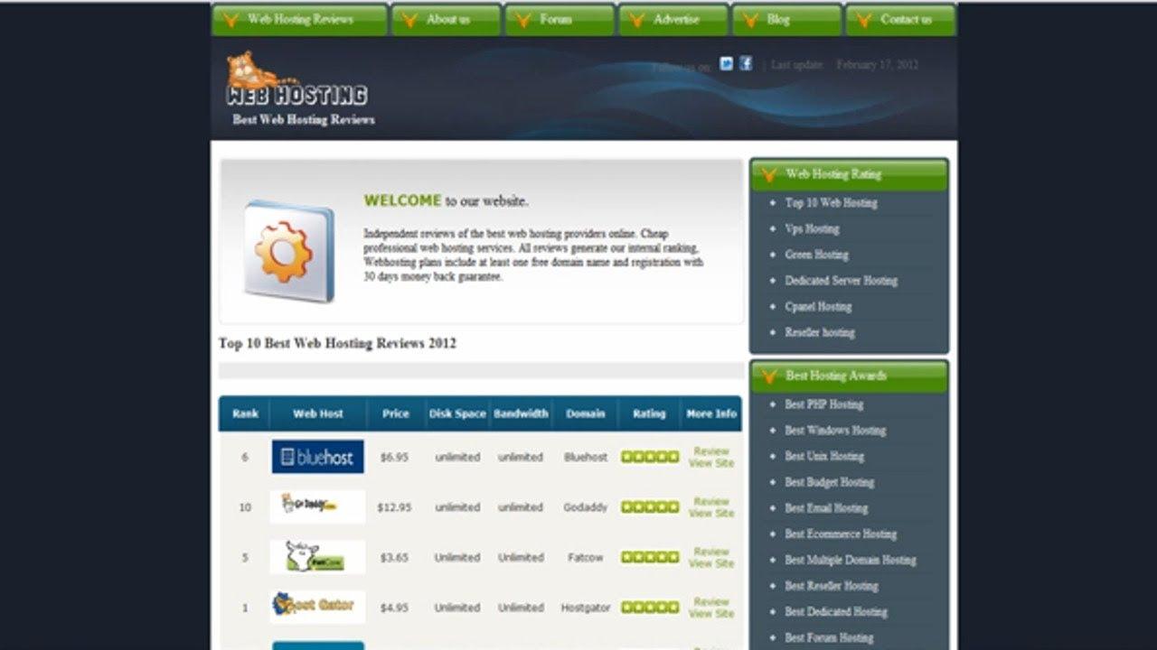 Best Customer Review on www.webhostingsreview.com Web Hosting