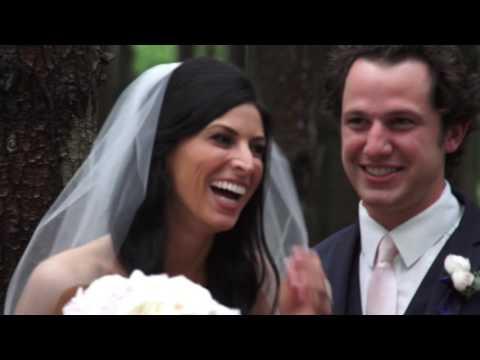 Megan & Nick's Wedding Highlights at St  Michael's Catholic Church in Worthington Ohio and High Line