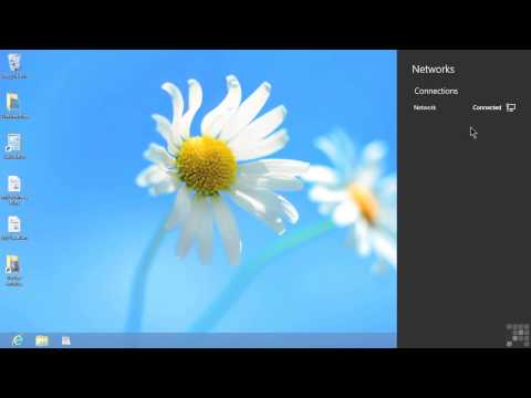 Microsoft Windows 8 Tutorial | Connecting To A Wireless Network