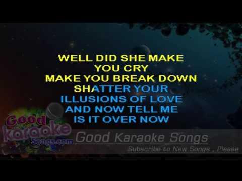 Gold Dust Woman -  Fleetwood Mac (Lyrics Karaoke) [ goodkaraokesongs.com ]
