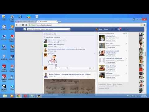 how to post a sticker on facebook
