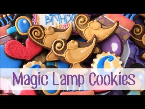 How to Make Magic Lamp Cookies