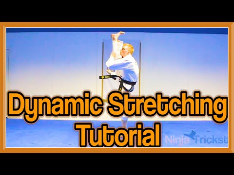 Taekwondo Kicking | Dynamic Stretching Drills (Get High Kicks) | GNT Tutorial