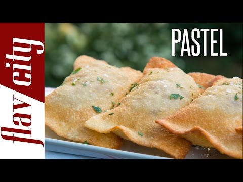 Brazilian Pastel - Easy Meat Pie Recipe