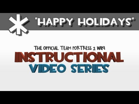 Instructional Video Series: Happy Holidays