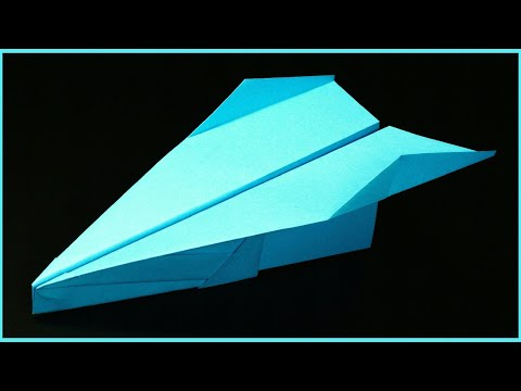 How to make a Paper airplane - Best origami paper planes - Paper airplanes that FLY FAR . Fenix
