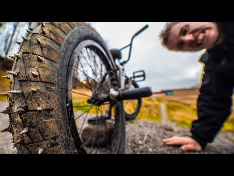 THE DEATH TIRES ON DIRT JUMPS!