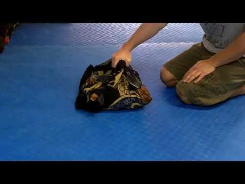 Japanese Gym Bag - The Furoshiki