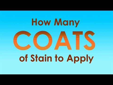 How Many Coats of Deck Stain to Apply