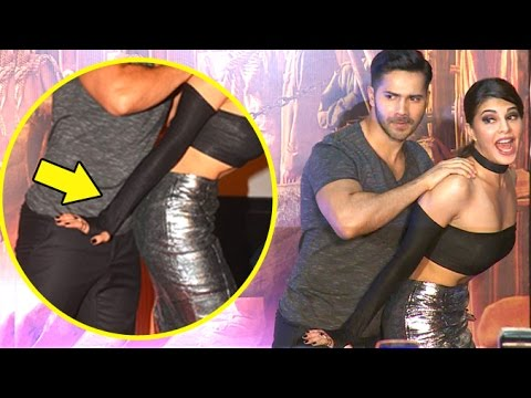 Xxx Mp4 Varun Dhawan 39 S FUNNY Poses With Jacqueline Fernandez In Public 3gp Sex