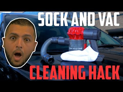 Will A Vacuum And A Sock Remove Change From Your Center Console? | Car Hacks