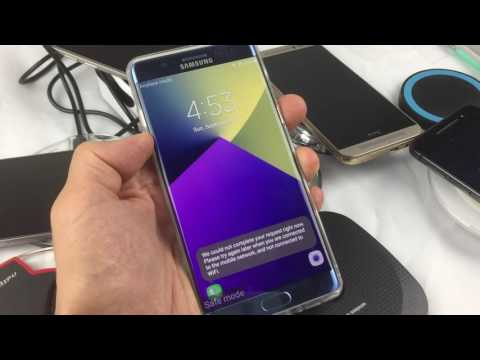How to Boot into Safe Mode on Galaxy Note 7