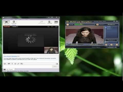 Use Webcam Morpher in Yahoo Messenger 11.0