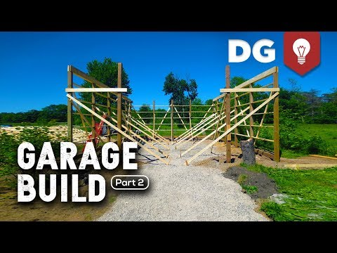 DAY 2: How To Build A Garage (For Your Brother)