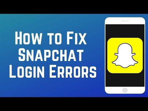 "How to Fix Snapchat Login Errors: ""Try Again Later"" & ""Could Not Connect"""