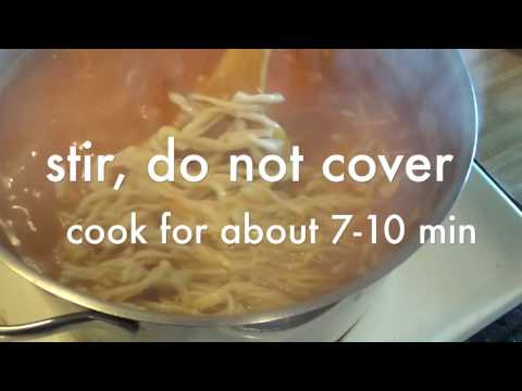 homemade 'miki' noodles recipe