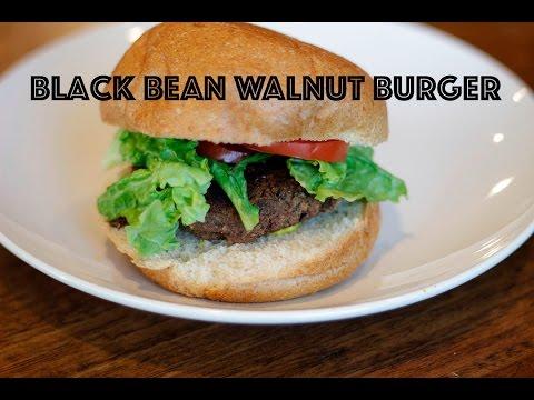 Black Bean Walnut Burgers