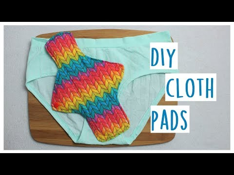 How to Sew Cloth Pads | Easy and Affordable | Sewing DIY | Whitney Sews