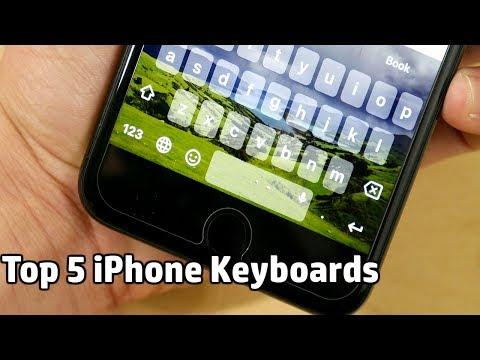 Top 5 iPhone Keyboards