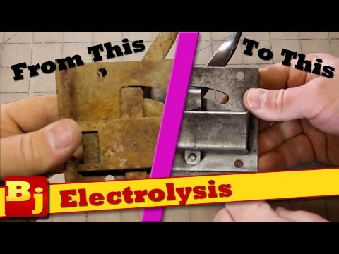 Remove Rust With Electrolysis
