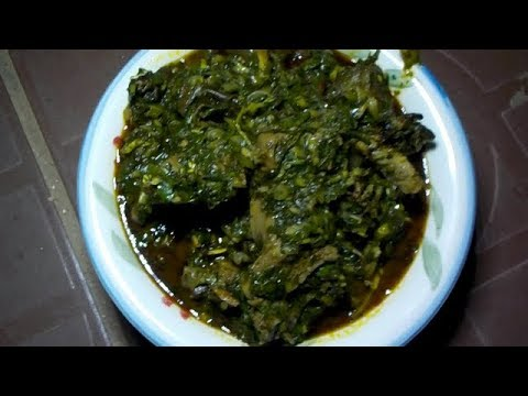 LEARN TO COOK AFANG  SOUP (CALABAR STYLE)