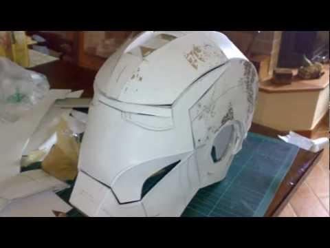 Iron Man Helmet - Mark III - Scratch Build DIY - First try
