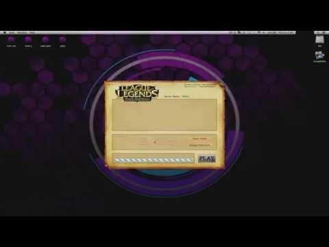 How to Customize Your League of Legends Login Screen (MAC) - iLoL 2.0