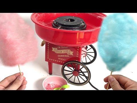 COTTON CANDY MAKER MACHINE  Algodón de azúcar CANDY FLOSS FAIRY FLOSS