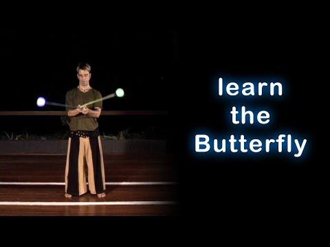 Beginner Poi Spinning Tutorial: The Butterfly