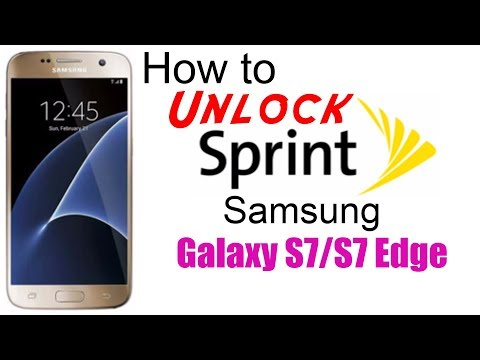 How to Unlock Sprint Samsung Galaxy S7 & S7 Edge - Use in USA and Worldwide