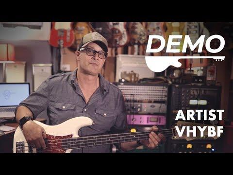 Artist Vintage Hybrid Fretless 4 string Bass - Passive/Active Preamp Demo