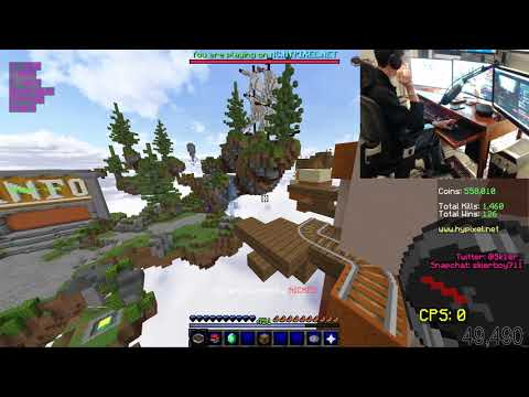 Hypixel Parkour with my feet and working hand