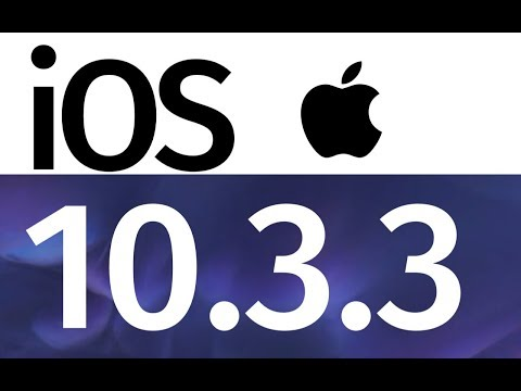 How to Update to iOS 10.3.3 - iPhone iPod iPad