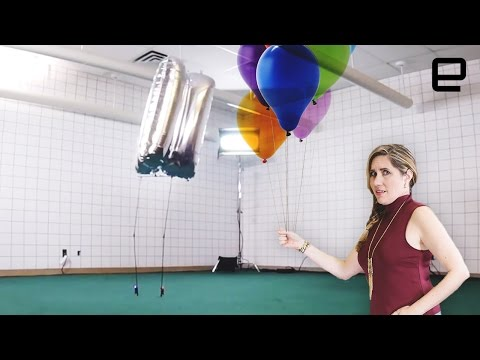 ICYMI: The balloon bot that can actually stand upright