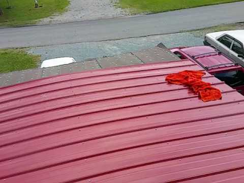 Mobile Home DIY Affordable Roof Repair part 2 of 2