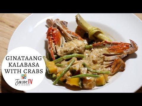 Ginataang Kalabasa with Crabs   Jakobe TV