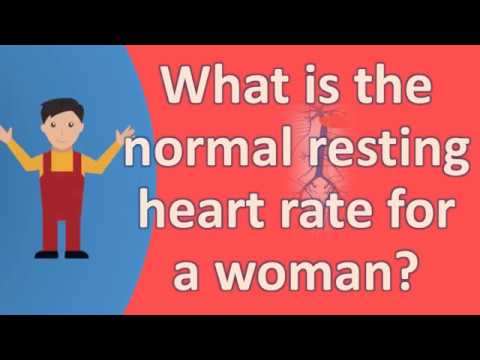 What is the normal resting heart rate for a woman ?  | BEST Health FAQS