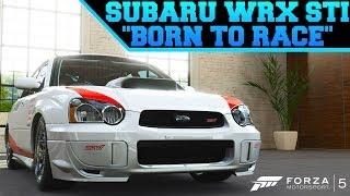 Forza Motorsport Born Race S Subaru Speed Art Music Jinni