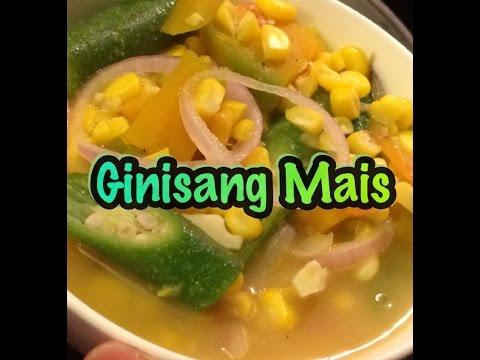 Ginisang Mais (sweet corn)