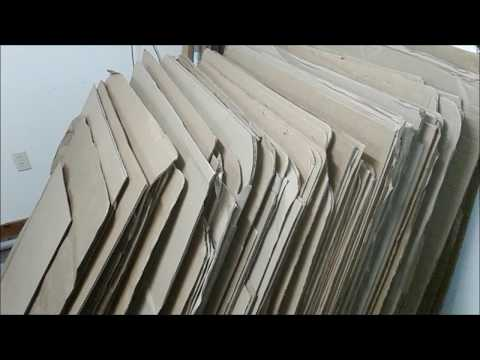 How to find loads of free cardboard for your garden
