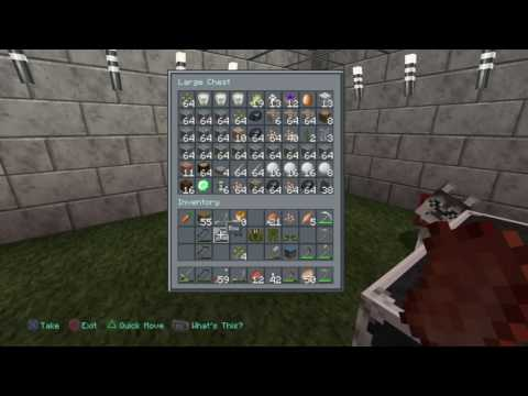 How to craft a sword in Minecraft: PlayStation 4 Edition