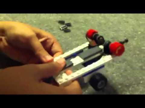 How to build a lego jetski and trailer