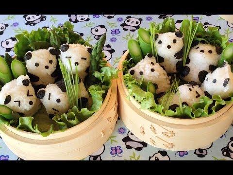 How To Make Cute Panda Bento