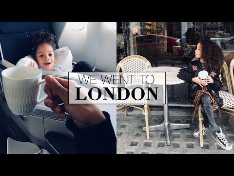 Vlog: We went to LONDON | Straight Haircut