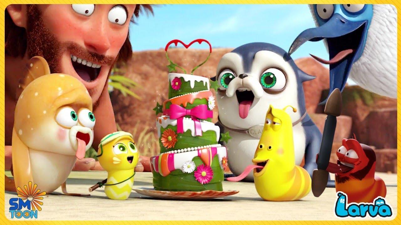 1 HOUR LARVA 2020 - LARVA Compilation 🍟 Best Cartoon Movie | Cartoons - Comics 🔔 Cartoon Comedy 2020
