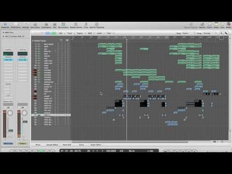 Working on a new hardstyle track in logic pro (part 2: mid-intro)