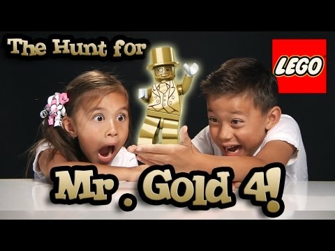 The Hunt for MR. GOLD PART 4 - BE THE GOLD! LEGO Series 10 Minifigure Unboxing #bethegold