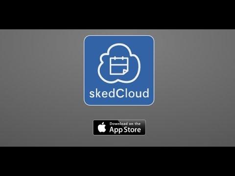 Cloud Calendar App skedCloud iPhone App Review Video