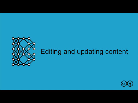050 - Editing and updating content