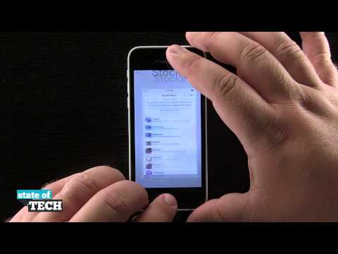 iPhone 5C Quick Tips - How to Take a Screen Shot